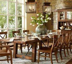 Toscana Pottery Barn Pottery Barn Toscana Dining Set So Comfy And Casual Without The