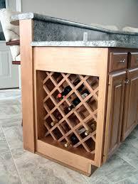 Under Cabinet Wine Racks Wine Rack Built In Wooden Wine Racks Schockman Lumber Company