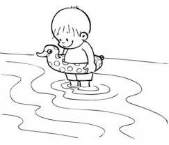 coloriage recette de cuisine dessin coloriage enfant bouee mer garderie été