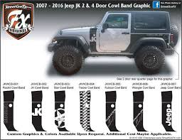 jeep wrangler graphics jeep wrangler graphics wrangler stripes jk graphics streetgrafx