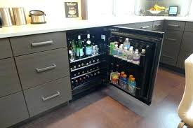 under cabinet beverage refrigerator under cabinet beverage cooler counter refrigerator best of wine bar