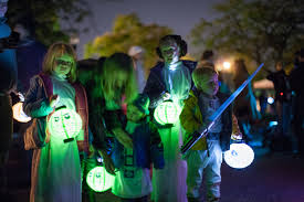 halloween lantern parade lights up patterson park