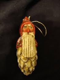 pam schifferl 5 santa with owl figure ornament to find