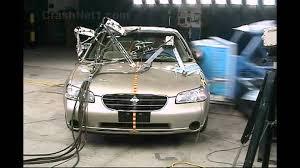 nissan maxima safety rating 2001 nissan maxima side crash test by nhtsa crashnet1 youtube