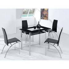 Small Glass Kitchen Tables by Glass Kitchen Tables Modern Glass Dining Room Table Image Of