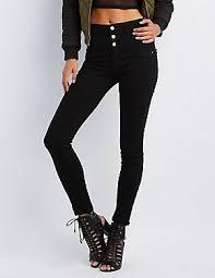Black Skinny Jeans With Holes Women U0027s Jeans Jeggings U0026 Trendy Denim Charlotte Russe