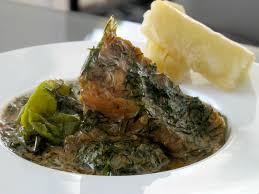 cuisine congolaise brazza trois pièces à la morue sauce arachide mets cuisines
