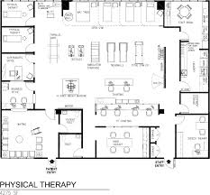 Physical Therapy Clinic Floor Plans Paramedical Suites Pocket Dentistry