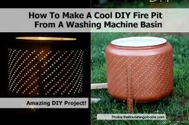 Washing Machine Firepit Pit From Washing Machine Basin Theflourishingabode Jpg