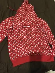 red supreme hoodie replica fast shipping free u sa only