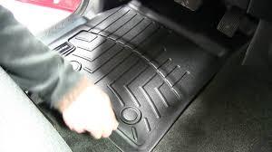 lexus floor mats weathertech front floor liner review 2011 ford f 150 youtube