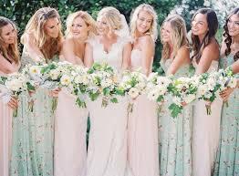 print bridesmaid dresses 18 best floral bridesmaids dresses images on floral