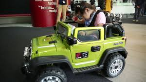 ford jeep modified a modified ride on toy jeep to help a special needs child learn to