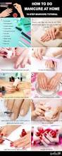 how to do manicure at home a 10 step manicure tutorial for beginners