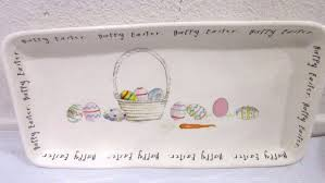 new rae dunn magenta happy easter basket and 10 similar items