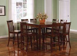 coaster fine furniture 101038wln 101039wln pines dining table set