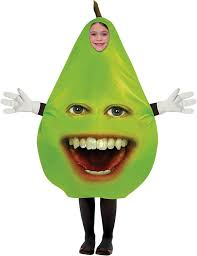 halloween costume kids amazon com pear child costume size one size clothing