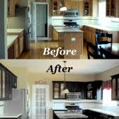 Painted Black Kitchen Cabinets Before And After Cabinetry Refinishing Starlily Design Studio