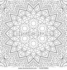 zen patterns coloring pages zentangle black white seamless pattern adult stock vector hd