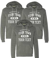 custom sweatshirts and embroidered sweatshirts
