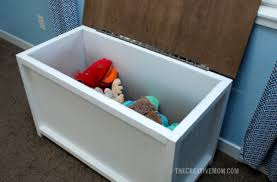 Plans For Building Toy Box by Storage Chest Or Toy Box Building Plans The Creative Mom