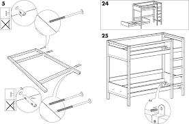 IKEA Beds TOVIK LOFT BUNK BED FRAME PDF Assembly Instruction Free - Ikea bunk bed assembly instructions