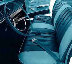 Steering Wheel Upholstery 1966 Chevrolet Impala Parts Interior Soft Goods Seat