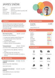 Photo Resume Examples Kickresume Create Beautiful Resume And Cover Letter In Minutes