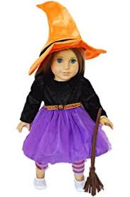 Girls Witch Halloween Costumes Amazon American Ag Witch Costume Charm Toys U0026 Games