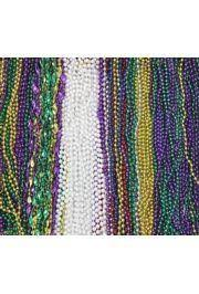 mardi gras bead bags mardi gras 505 pieces out mix in zipper bag