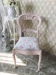 shabby pink rose chair blush beauty vanity chair shabby chic