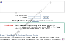 Planters Online Banking by Confirm Your Online Banking Account Union Planters Bank Phishing
