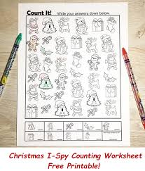christmas free i spy printable activity printables 4 mom