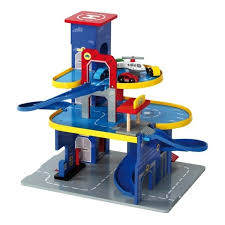 mentari houten speelgoedgarage parking city online kopen houten
