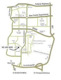 map usj 1 location map of astarapoint taipan subang jaya