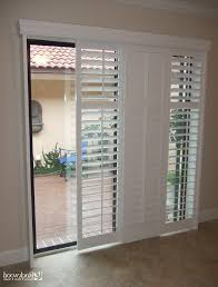 plantation shutters for patio doors