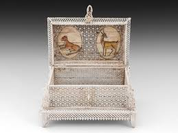 indian jewellery casket c 1890 india from hampton antiques