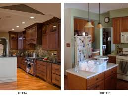 Kitchen Remodel Before And After by Glamorous Kitchen Remodel Before And After Amazing Before And
