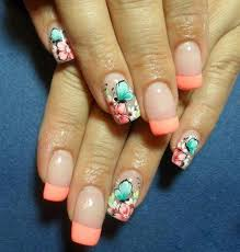 70 ideas of french manicure butterfly design pink white and