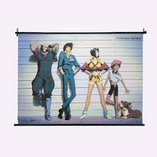 line up wall scroll home decor