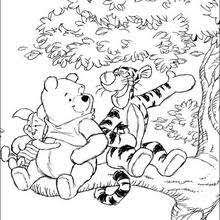 winnie pooh coloring pages hellokids