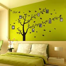Home Decoration Wall Stickers Amazon Com Dagou Huge 6 U0027 Ft H X 9 U0027 Ft W Memory Family Tree
