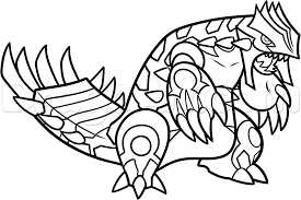 groudon coloring pages groudon coloring page coloring home picture