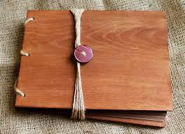 wood photo album wood album photo album wooden photo album rustic wood photo