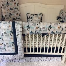 Baby Boy Bedding Crib Sets Baby Boy Crib Bedding Crib Sets Adventure Awaits Mountains