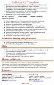 Solicitor Resume 19 Cv Template Uk Free Solicitor Cv Template 2 How To Write A