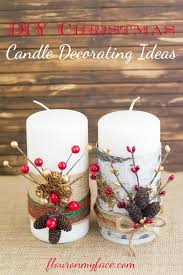 How To Make Christmas Decorations At Home Easy Best 25 Christmas Candles Ideas On Pinterest Winter Decorations