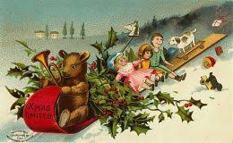 antique toys on free vintage christmas cards hubpages