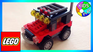 lego jeep lego creator 3 in 1 31040 jeep construction lego assembly for