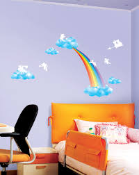 Winnie The Pooh Wall Decals For Nursery by Angels And Rainbow Wall Stickers For Nursery Wallstickery Com